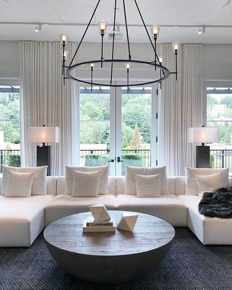 Top 50 Best Living Room Lighting Ideas - Interior Light Fixtures .