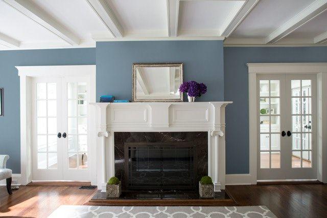 Living Room Color Ideas & Inspiration | Benjamin Moore | Blue .