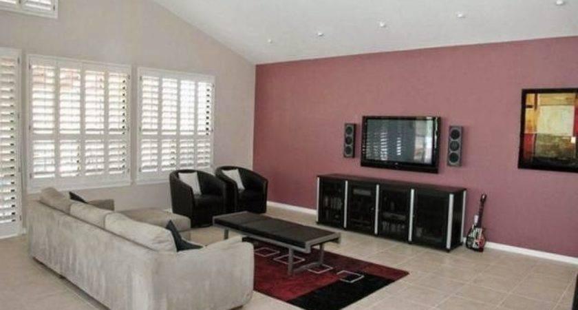 Top 25 Photos Ideas For Living Room One Wall Color Ideas - Homes Dec