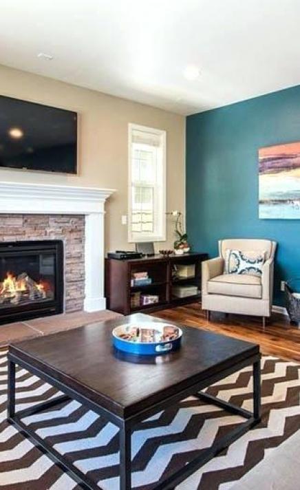Accent Wall Color Ideas Living Room Colors Info – Saltandblu
