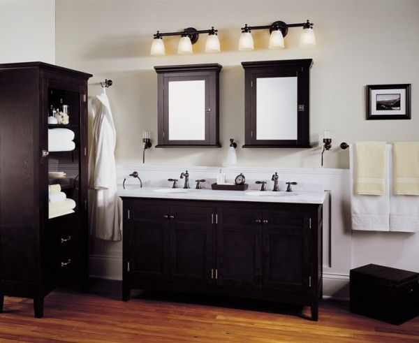 Lowes Bathroom Lighting Brushed Nickel | Light fixtures bathroom .