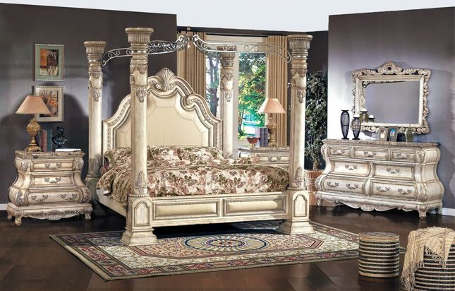 Victorian Canopy Bed | Four Poster Bedroom Sets | Shop Factory Dire