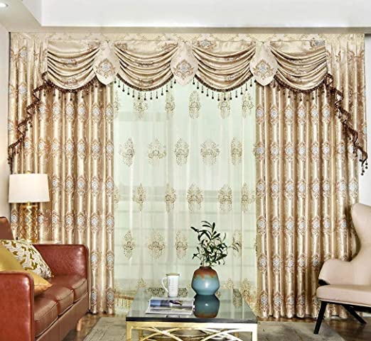 Amazon.com: Queen's House Luxury Drapes and Curtains for Living .