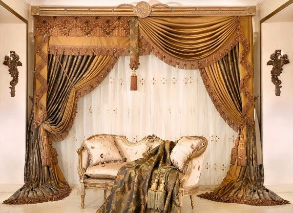 Luxurious+Living+Room+Curtains | living room design ideas | Luxury .