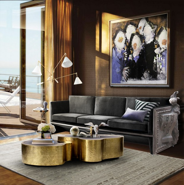 Luxury Living room ideas with modern sofas   Miami Design Distri