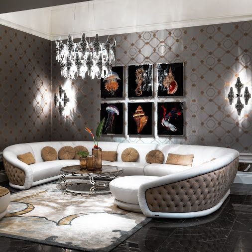 """Luxury Living Rooms"""" """"Luxury Living Room Ideas"""" By InStyle-Decor ."""
