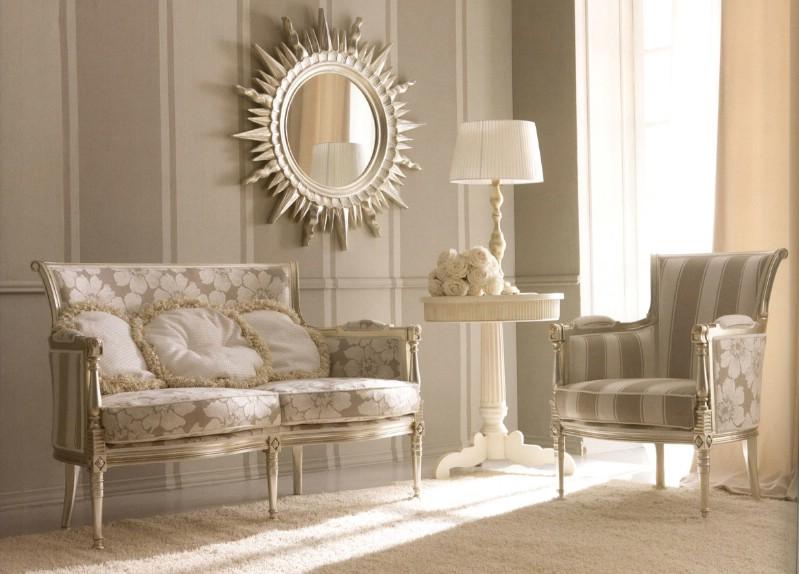 Classic living room furniture Kelly - Classic Italian living room .