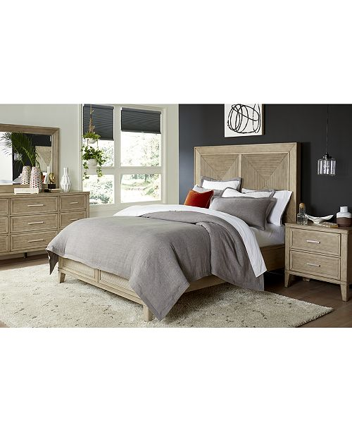 Furniture CLOSEOUT! Beckley King Bed, Created for Macy's & Reviews .