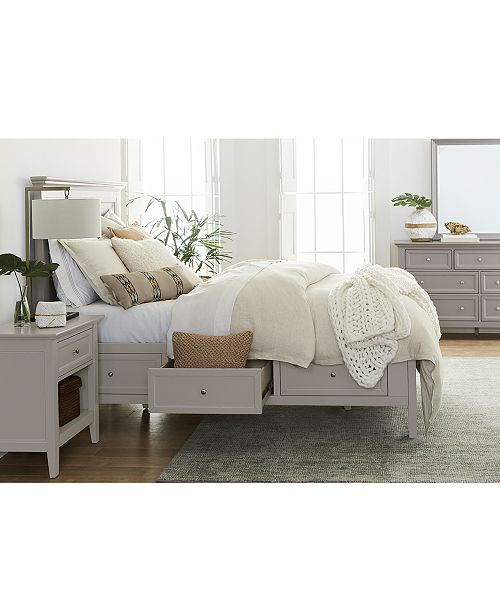 Furniture Sanibel Storage Bedroom Furniture, 3-Pc. Set (Queen Bed .