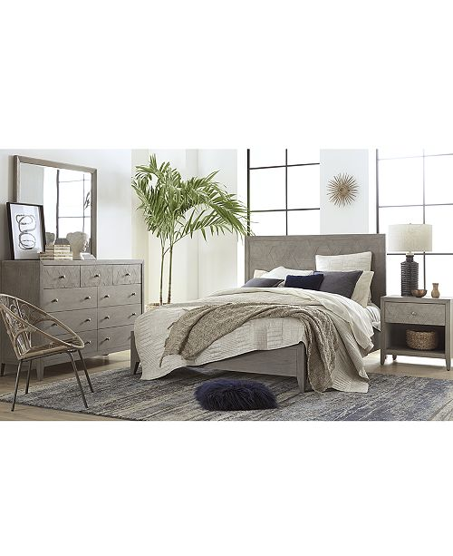 Furniture Parquet Bedroom Furniture, 3-Pc. Set (California King .