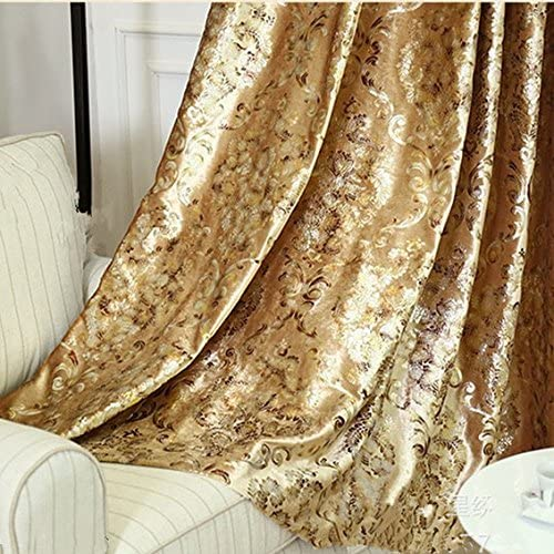 Amazon.com: 1 Panel European Style Velvet Gold Curtains Room .