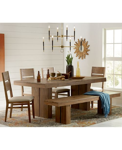 Furniture CLOSEOUT! Champagne Dining Room Furniture Collection .