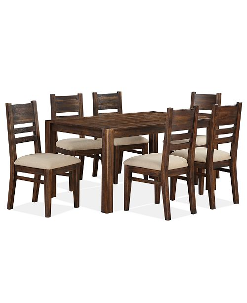 Furniture Avondale 7-Pc. Dining Room Set, Created for Macy's .
