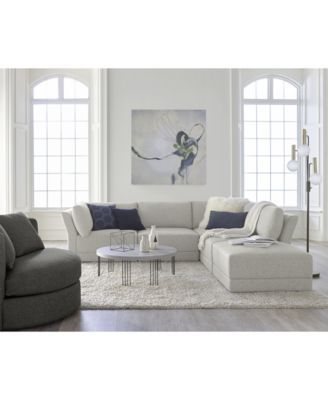 Furniture CLOSEOUT! Mylie 5-Pc. Fabric | Quality living room .