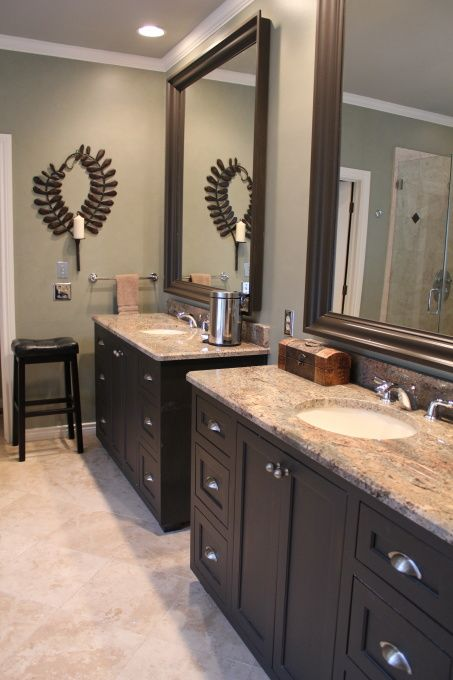 Calming Master Bath | Bathroom colors, Master bathroom vanity .