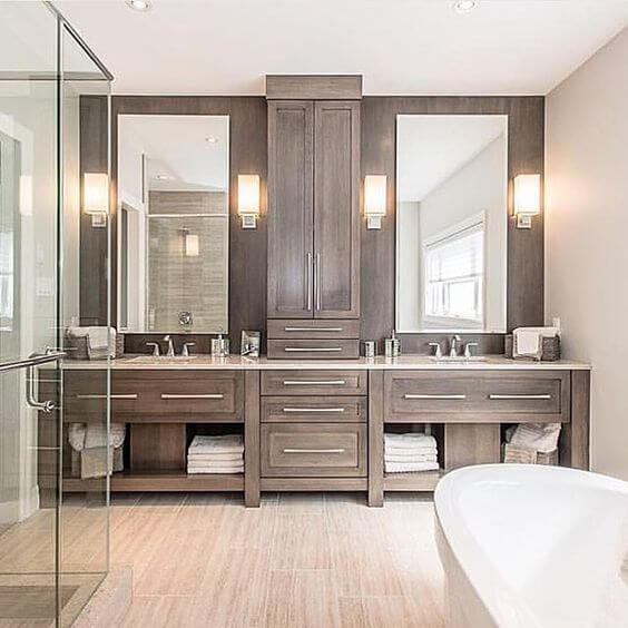 √ 27 Best Bathroom Cabinet Ideas to Tidy up Your Bathroom - Harp .