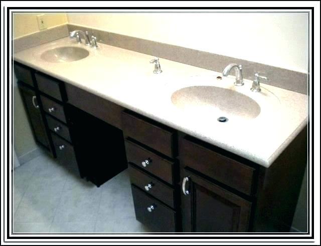 Double Sink Bathroom Vanities Menards - Image of Bathroom and Clos
