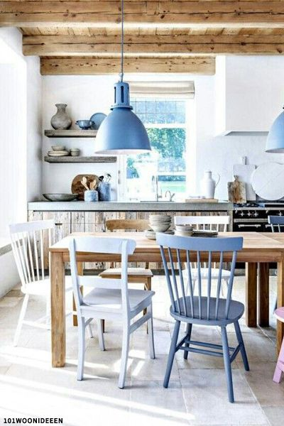 Mix & Match Dining Chairs | Home deco, Interior, Ho