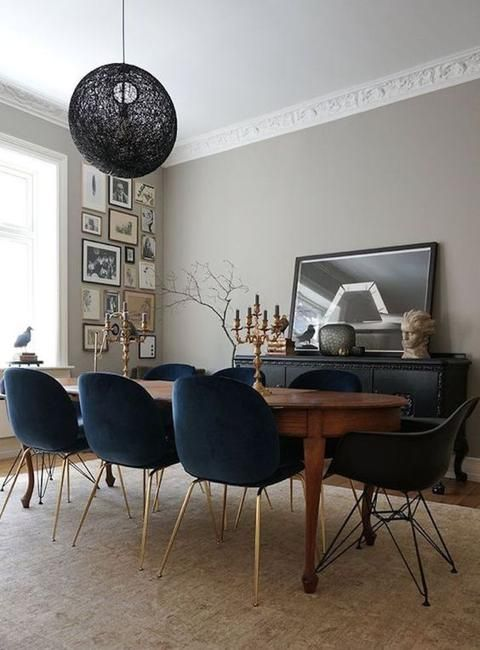 How to Mix and Match Dining Chairs and Use Colors in Dining Room .