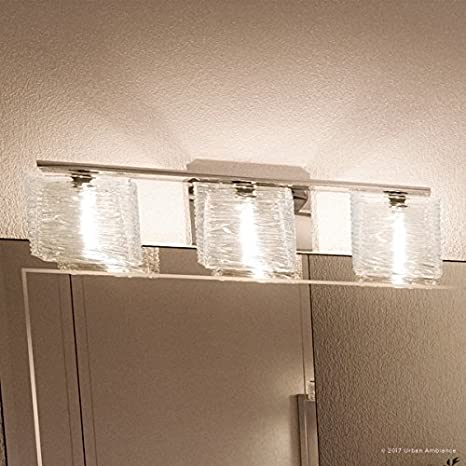 "Luxury Modern Bathroom Light, Medium Size: 6.75""H x 22.5""W, with ."