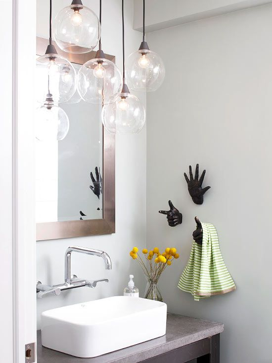 Our Best Bathroom Lighting Ideas | Bathroom design small, Small .