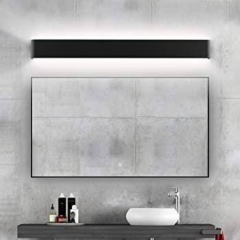 Ralbay Modern Black Bathroom Vanity Light 32.6inch Vanity Light .