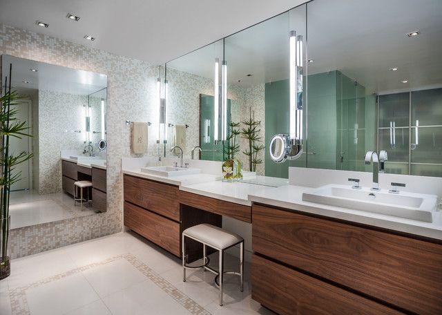 Bathroom » Luxurious Modern Bathroom Vanities In Floating Design .