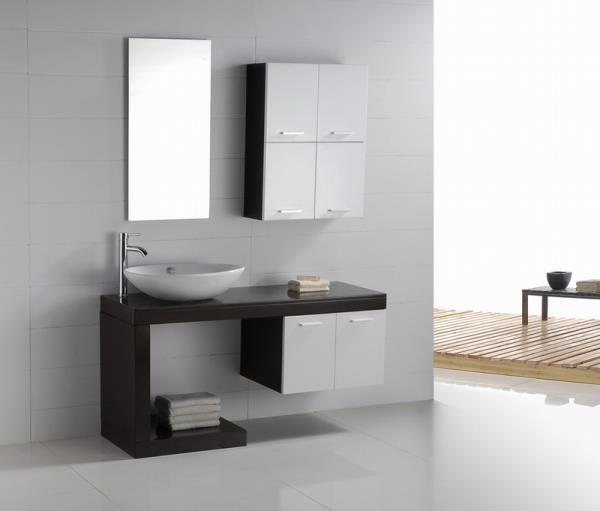 Bathroom Vanity - Modern Bathroom Vanity Set - Single Sink - Aria .