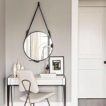 White Modern Bedroom Vanity Design Ide