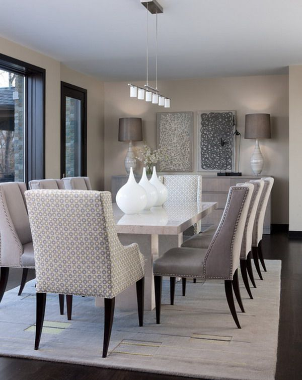 40+ Beautiful Modern Dining Room Ideas - Hative | Modern dining .