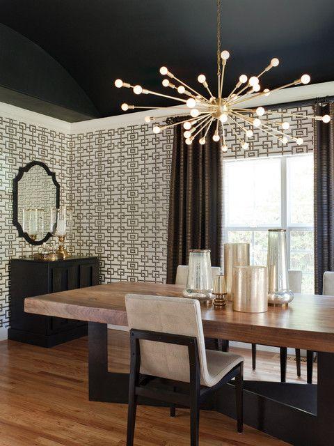 Modern Dining Room Light Fixtures Interior Decoration