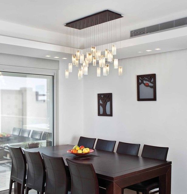 Eye-Catching Contemporary Chandeliers for Dining Room contemporary .