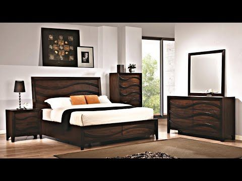 Complete Bedroom Furniture Sets | Latest Bedroom Set | Brown .