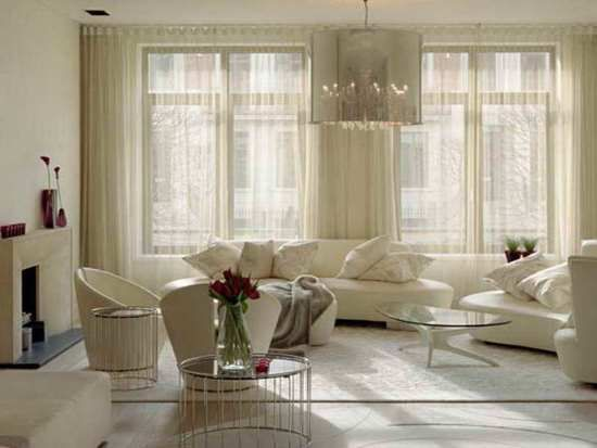 Living Room Curtain Ideas in 2020 | Curtains living room modern .