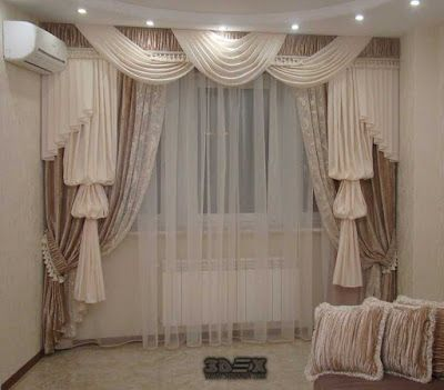modern living room curtains designs ideas colors styles for hall .