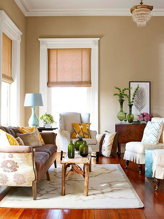 Our Best Neutral Living Room Color Ideas | Living room paint .