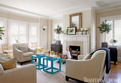 Updated California Classic | Living room colors, Living room color .
