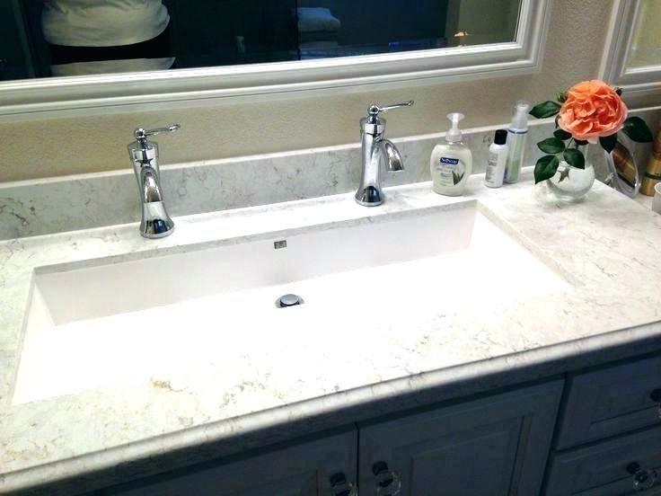 long bathroom sinks double faucet trough sink trough sink bathroom .