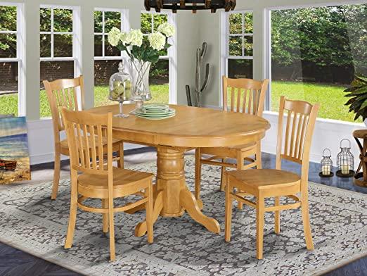 Amazon.com: East West Furniture dining room table set 4 Wonderful .