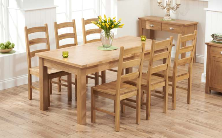Buyers Advice For Purchasing Oak Dining Furniture - All Eyes Home .