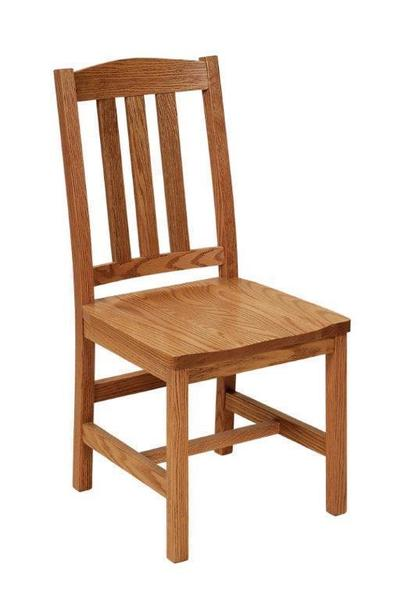 Quick Ship Lodge Dining Chair from DutchCrafters Amish Furnitu