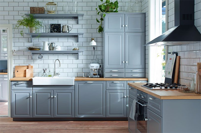 Painted Kitchen Cabinets | Here's How To Get The Look Right .