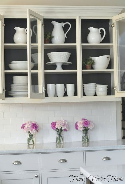 Honey We're Home: Painted Kitchen Cabinets | Painting kitchen .