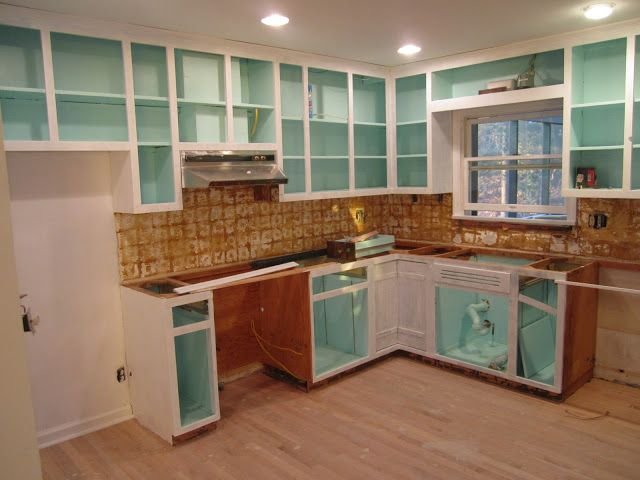 Paint Kitchen Cabinets Inside
