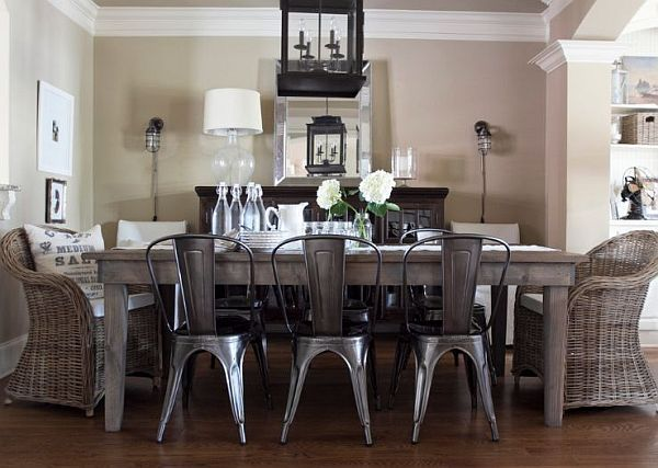 Stylish Bistro Chairs for a European Touch | Cottage dining rooms .