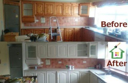 47 Ideas For Kitchen Paint Cabinets Before And After Layout .