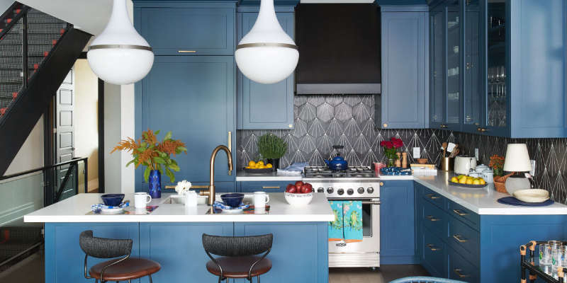 Painting Kitchen Cabinet As Well As Laminate | Kitchen King
