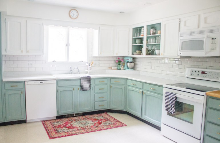 Chalk Painted Kitchen Cabinets Two Years Later | Holland Avenue Ho