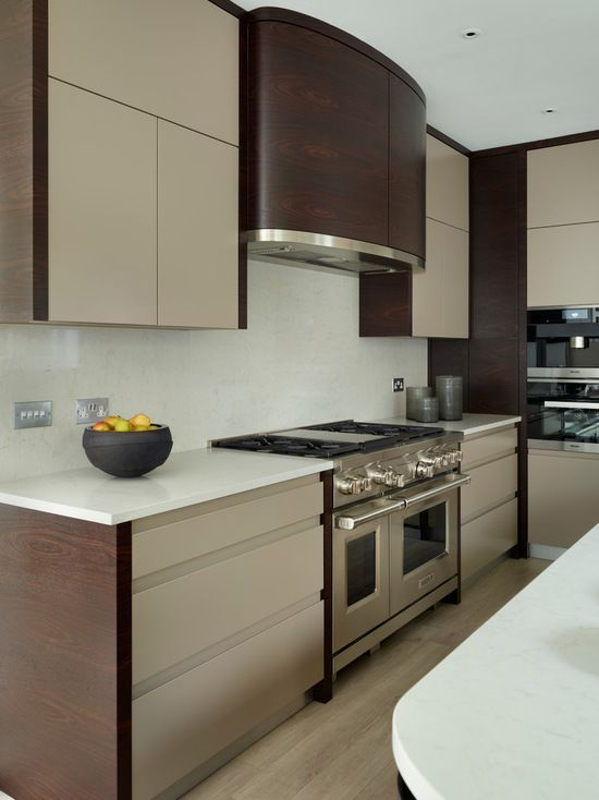 Richmond Indian Rosewood and Painted Modern Kitchen - Kitchen .
