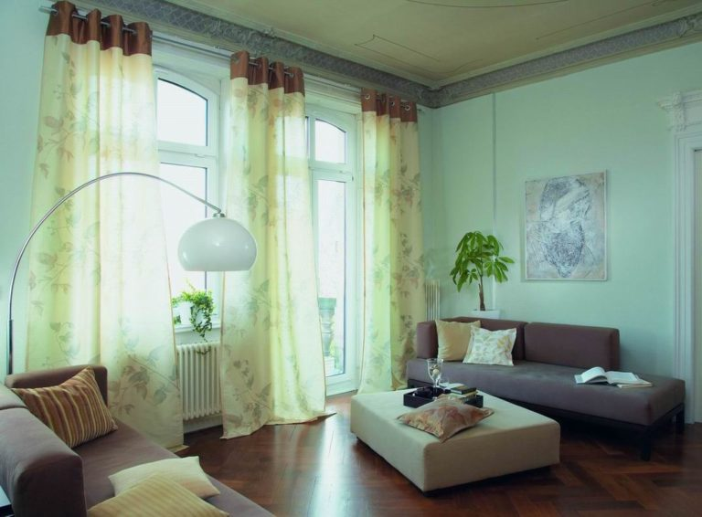 Popular Ideas Living Room Curtain Sets